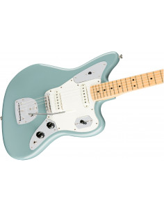 Fender - American Pro Jaguar, Maple Fingerboard, Sonic Gray