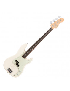 Fender,American Pro Precision Bass,Rosewood Fingerboard,Olympic White