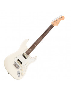 Fender,American Pro Stratocaster HH Shawbucker,Rosewood Fingerboard,Olympic White