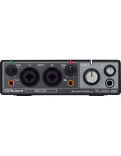 Roland - Rubix22 Usb Audio Interface 2-In/2-Out, Mac, Pc En Ipad