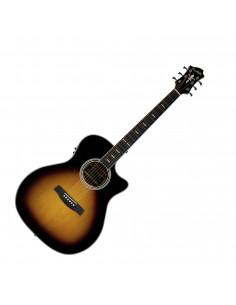 Hagstrom - Siljan II E/Acoustic Tobacco Sunburst