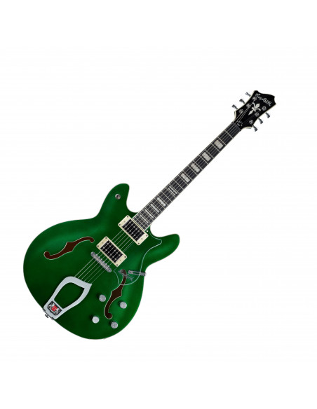 Hagstrom - Viking Deluxe Custom Emerald Green Metallic