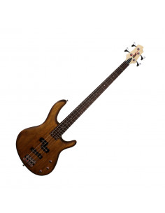 CORT - Action Bass PJ Basse électrique, Open Pore Walnut, Micros passifs PJ