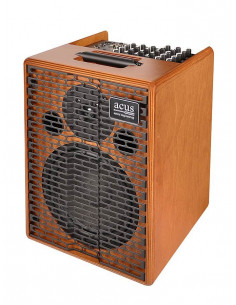 ACUS - One-8 Acoustic amplifier 200w 3 channels reverb natural wood