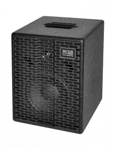 Acus,One-EXT BK Acoustic amplifier 200w master volume Black