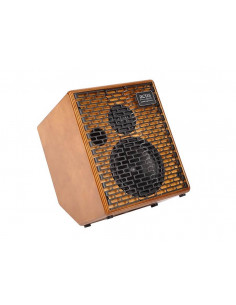 ACUS - One-6TC Acoustic Amplifier 130w 3 channels rever Tilt-back design natural wood