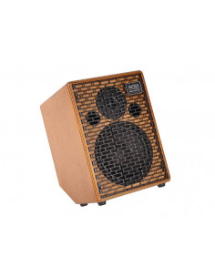 Acus,One-8C Acoustic amplifier 200w 3 channels reverb Tilt-Back design natural wood