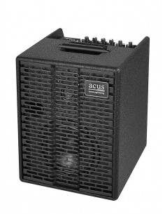 ACUS - One-5TB BK Acoustic battery power amplifier for street 70W 2 channels Black