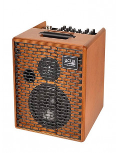 ACUS - One-6T Acoustic Amplifier 130w 3 channels rever natural wood