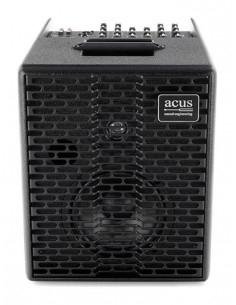ACUS - One-6T BK Acoustic Amplifier 130w 3 channels rever Black