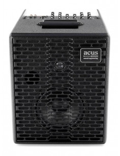 ACUS - One-6T BK Acoustic Amplifier 130w 3 channels rever Black