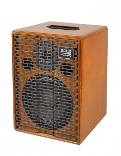Acus,One-EXT Acoustic amplifier 200w master volume natural wood