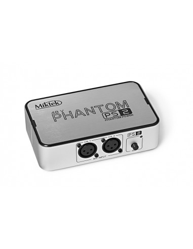 MIKTEK - PS2 2-Channel 48 volt Phantom Power Supply