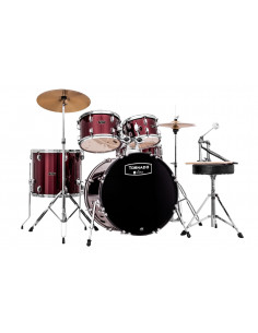 MAPEX - TORNADO KIT 20-10-12-14-14 + HW + CYMB H14 - C16 RED