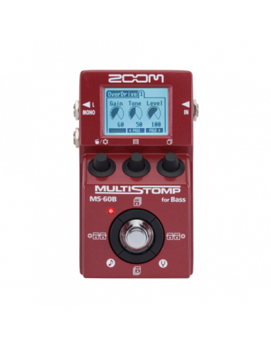Zoom - MS-60B MultiStomp Bass Pedal