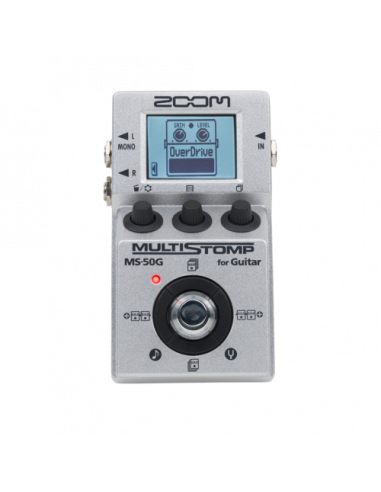 Zoom - MS-50G MultiStomp Guitar Pedal