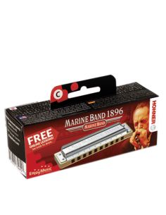 Hohner - Marine Band Classic C 20 notes