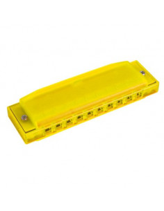 Hohner - Happy Color Harp C couleur: Jaune 20 notes