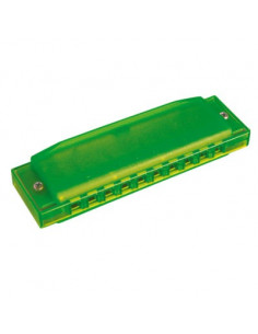 Hohner - Happy Color Harp C couleur: Vert 20 notes