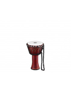 Meinl - Rope Tuned Travel Series Djembes, Synthetic Head (Patented) Pharaoh's Script 8""