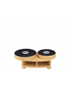 "Meinl - Professional Bongo Cajon (DE patent) Natural/Ebony Black 15 3/4"" W x 5 1/4"" H x 8 1/2"" D"