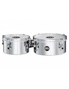 "Meinl - Mini Timbales (Patented) Chrome 8"" & 10"""