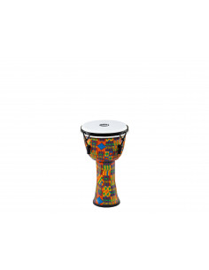 Meinl - Mechanical Tuned Travel Series Djembes, Synthetic Head (patented) Kenyan Quilt 8""