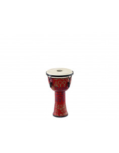 Meinl - Mechanical Tuned Travel Series Djembes, Goat Head (Patented) Pharaoh's Script 8""