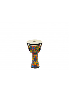 Meinl - Mechanical Tuned Travel Series Djembes, Goat Head (Patented) Kenyan Quilt 8""