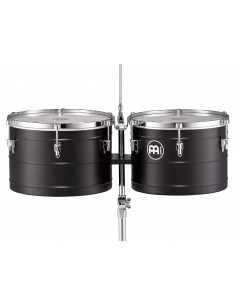 "Meinl - Marathon® Series Turbo Timbales  (patented) Black 14"" & 15"""