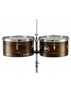 "Meinl - Marathon® Series Timbales (patented) Antique Finish 14"" & 15"""
