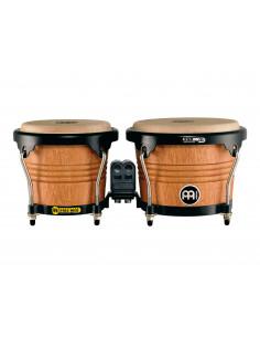 "Meinl,Marathon Series (DE patent) FWB190 Wood Bongos Super Natural 6 3/4"" Macho & 8"" Hembra"