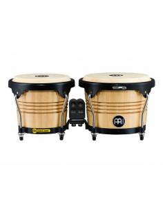 "Meinl,Marathon Series (DE patent) FWB190 Wood Bongos Natural 6 3/4"" Macho & 8"" Hembra"