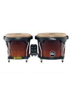 "Meinl - Marathon® Series (DE patent) FWB190 Wood Bongos Coffee Burst 6 3/4"" Macho & 8"" Hembra"