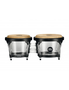 "Meinl - Journey Series HB50 Bongos Transparent 6 1/2"" Macho & 7 1/2"" Hembra"