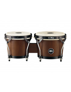 "Meinl - Headliner® Series HB100 Wood Bongos Walnut Brown 6 3/4"" Macho & 8"" Hembra"