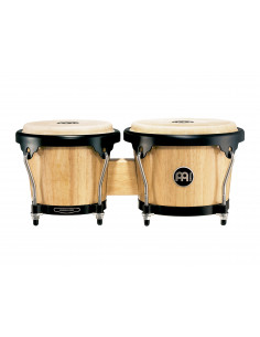 "Meinl,Headliner Series HB100 Wood Bongos Natural 6 3/4"" Macho & 8"" Hembra"