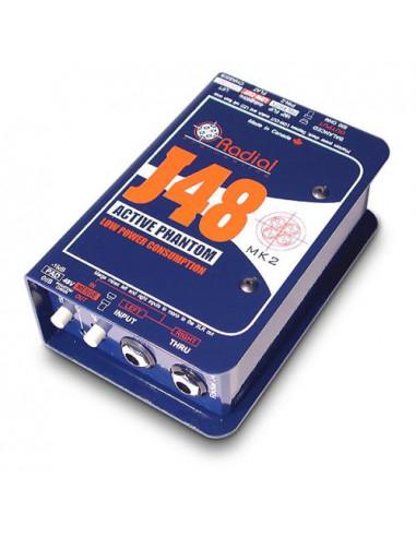 Radial - J48 - Phantom Powered Active Direct Box