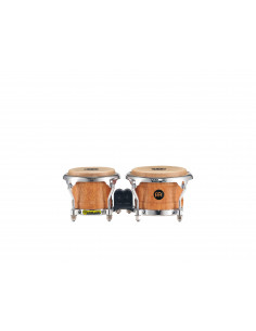 "Meinl,FWB100 Mini Wood Bongo Super Natural 3 1/2"" Macho & 4 1/4"" Hembra"""