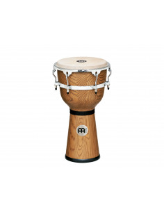 Meinl - Floatune Series Woodcraft Djembe Zebra Finished Ash 12""