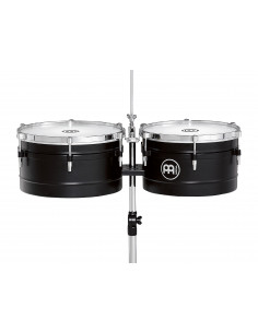 "Meinl - Floatune Series Timbales (US patent) Black 13"" & 14"""