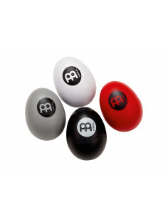 Meinl - Egg Shaker Set White, Grey, Red, Black