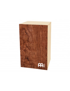 "Meinl,DMYO-CAJ-BU,Deluxe Make your Own Cajon,Burl Wood,12"" x 19 1/4"" x 12"""