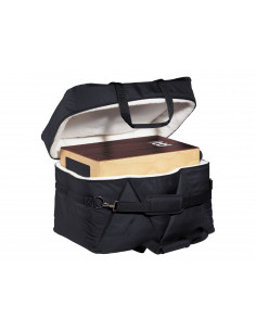 """Meinl - Deluxe Bass Pedal Cajon Bag Black 21 1/2"""" W x 17"""" H x 14 1/2"""" D"""