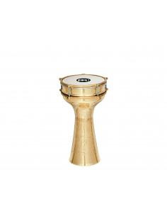"Meinl - Copper Darbukas, brass-plated, hand-hammerd  7 1/2"" x 14 3/4"""