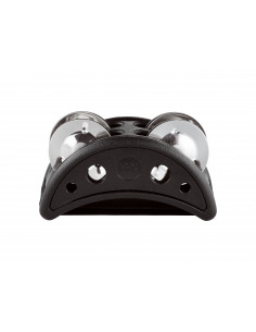 Meinl - Compact Foot Tambourine Black
