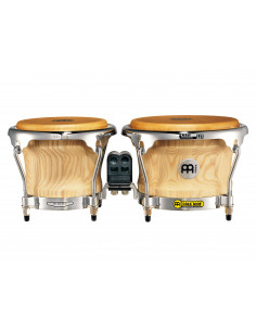 "Meinl,Collection Series (DE patent) CS400 Wood Bongo American White Ash 7"" & 8 1/2"""