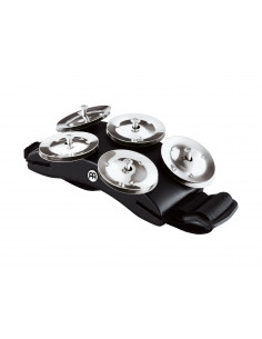 Meinl,Cajon Foot Tambourine Black