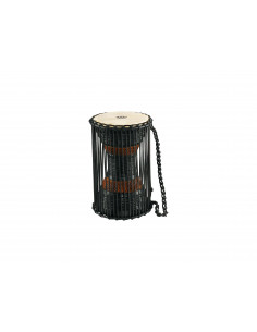 """Meinl - African Wood Talking Drums Brown/Black 7"""" x 12"""""""