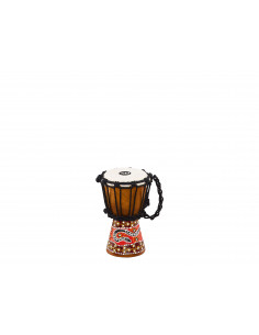 "Meinl,African Style Mini Djembes Phyton design 4 1/2"" x 8"""